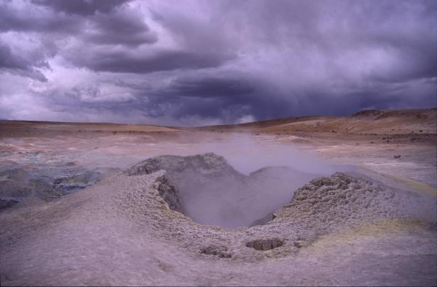 Geyser, Bolivia